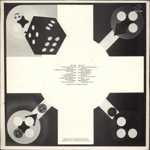 Various-Reggae & Ska Musical Consortium - Hype Sticker vinyl LP album (LP record) UK V-ALPMU727146