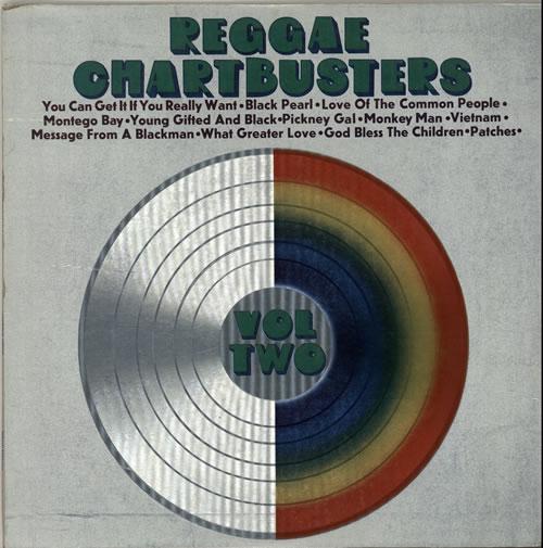 Various-Reggae & Ska Reggae Chartbusters Volume Two vinyl LP album (LP record) UK V-ALPRE641495