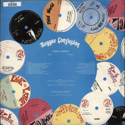 Various-Reggae & Ska Reggae Confusion Vol: 2 vinyl LP album (LP record) UK V-ALPRE727053