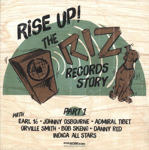 Various-Reggae & Ska Rise Up ! The Riz Records Story Part 1 vinyl LP album (LP record) UK V-ALPRI744790