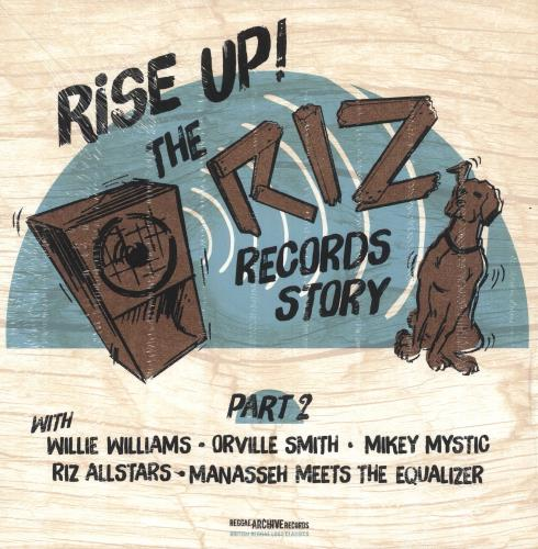 Various-Reggae & Ska Rise Up ! The Riz Records Story Part 2 vinyl LP album (LP record) UK V-ALPRI744792