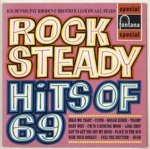 Various-Reggae & Ska Rock Steady Hits Of 69 vinyl LP album (LP record) UK V-ALPRO669724