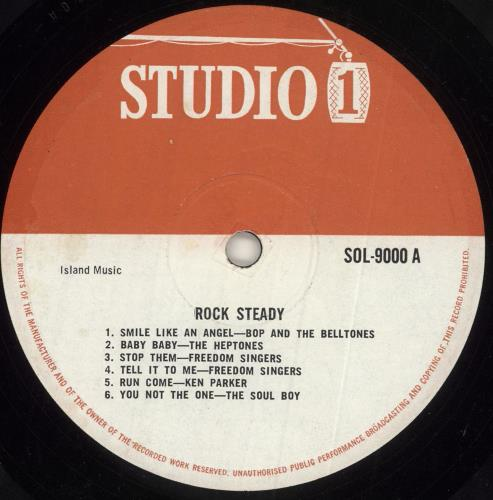 Various-Reggae & Ska Rock Steady vinyl LP album (LP record) UK V-ALPRO744842