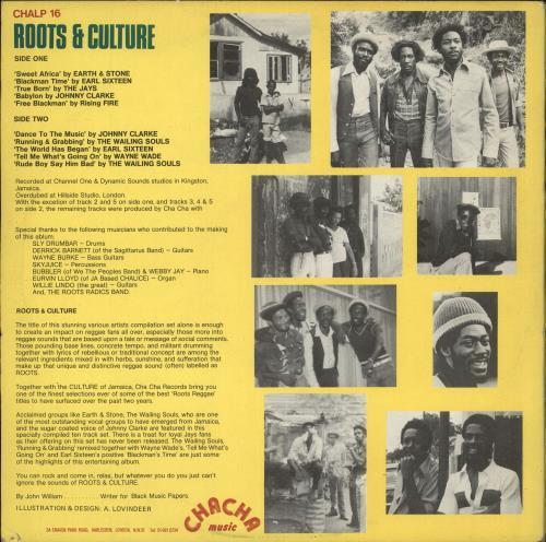 Various-Reggae & Ska Roots & Culture vinyl LP album (LP record) UK V-ALPRO709108