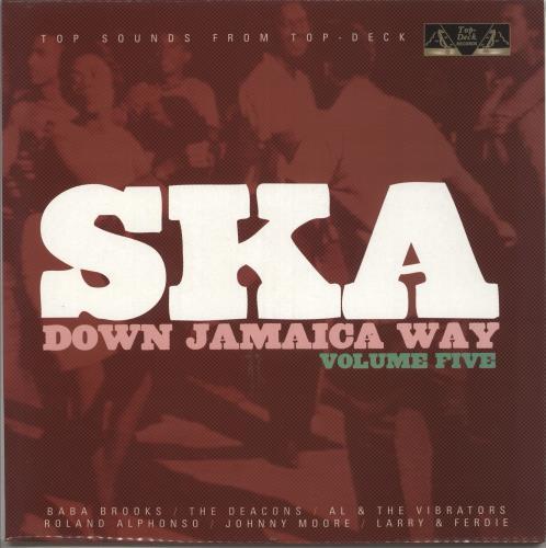 Various-Reggae & Ska Ska Down Jamaica Way Volume Five 2-LP vinyl record set (Double Album) UK V-A2LSK734115