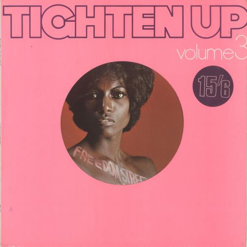 Various-Reggae & Ska Tighten Up Volume 3 vinyl LP album (LP record) UK V-ALPTI715714