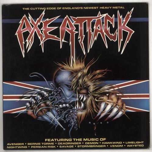 Various-Rock & Metal Axe Attack vinyl LP album (LP record) US RVALPAX739545