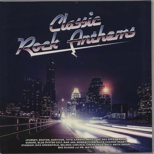 Various-Rock & Metal Classic Rock Anthems 2-LP vinyl record set (Double Album) UK RVA2LCL757576