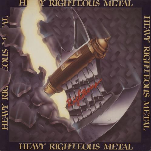 Various-Rock & Metal Heavy Righteous Metal vinyl LP album (LP record) US RVALPHE412962