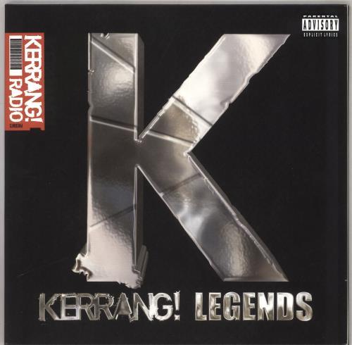 Various-Rock & Metal Kerrang! Legends 2-LP vinyl record set (Double Album) UK RVA2LKE741599
