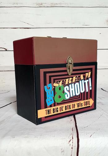 Various-Soul & Funk Beg Scream & Shout CD Album Box Set UK SJFDXBE692051