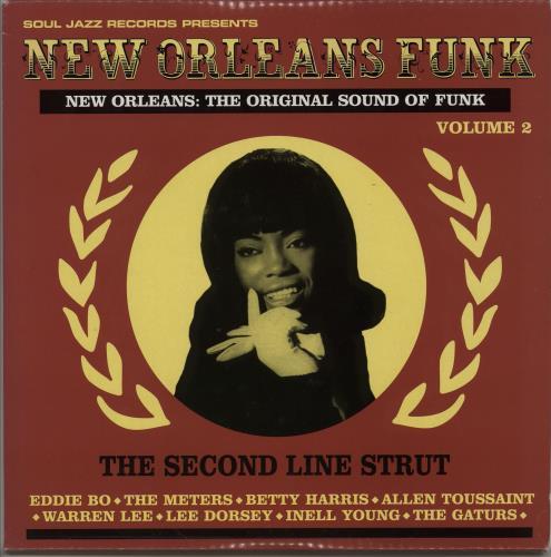 Various-Soul & Funk New Orleans Funk 3-LP vinyl record set (Triple Album) UK SJF3LNE754504