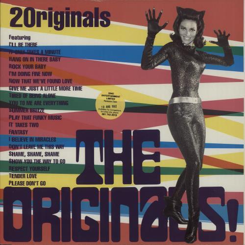 Various-Soul & Funk The Originals! vinyl LP album (LP record) UK SJFLPTH659737