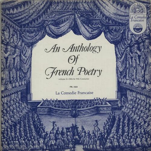 Various-Spoken Word & Poetry An Anthology Of French Poetry Volume II vinyl LP album (LP record) US XB2LPAN635193