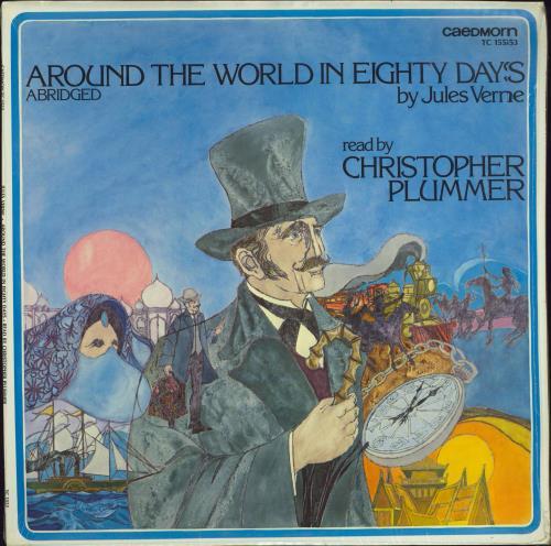 Various-Spoken Word & Poetry Around The World In Eighty Days vinyl LP album (LP record) US XB2LPAR775819