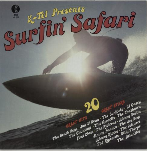 Various-Surf & Instrumental Surfin' Safari vinyl LP album (LP record) Australian VGWLPSU658321