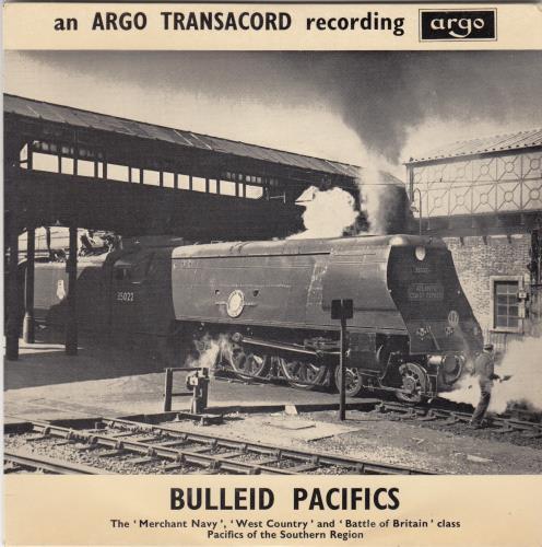 "Various-Trains Bulleid Pacifics EP 7"" vinyl single (7 inch record) UK V-T07BU585831"