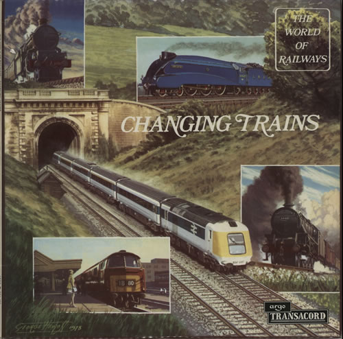 Various-Trains Changing Trains vinyl LP album (LP record) UK V-TLPCH583015