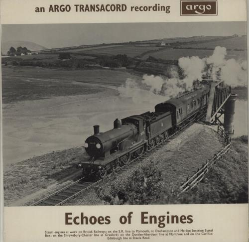Various-Trains Echoes Of Engines vinyl LP album (LP record) UK V-TLPEC684406