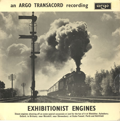 """Various-Trains Exhibitionist Engines EP 7"""" vinyl single (7 inch record) UK V-T07EX585835"""