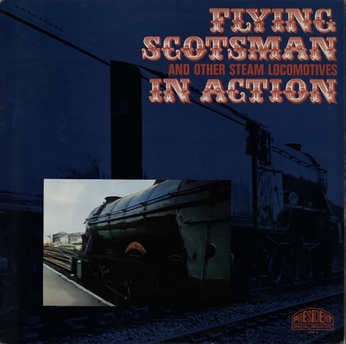 Various-Trains Flying Scotsman And Other Steam Locomotives In Action vinyl LP album (LP record) UK V-TLPFL583008