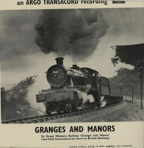 """Various-Trains Granges And Manors EP 7"""" vinyl single (7 inch record) UK V-T07GR652996"""