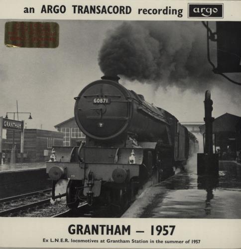 "Various-Trains Grantham - 1957 EP 7"" vinyl single (7 inch record) UK V-T07GR652992"