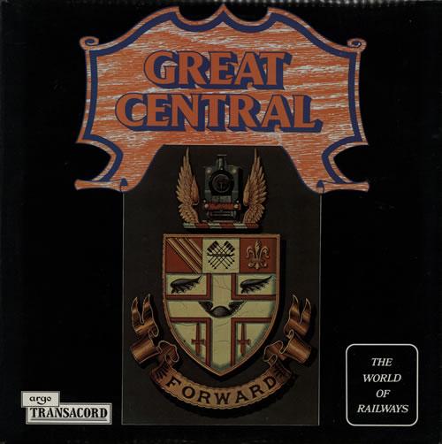 Various-Trains Great Central vinyl LP album (LP record) UK V-TLPGR583004