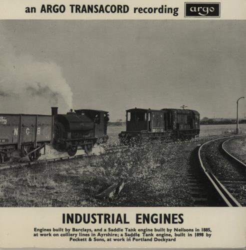 """Various-Trains Industrial Engines EP 7"""" vinyl single (7 inch record) UK V-T07IN683933"""