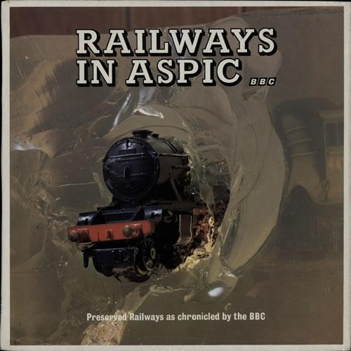 Various-Trains Railways In Aspic vinyl LP album (LP record) UK V-TLPRA584572
