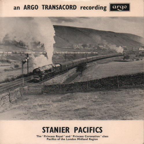 "Various-Trains Stanier Pacifics EP 7"" vinyl single (7 inch record) UK V-T07ST679735"