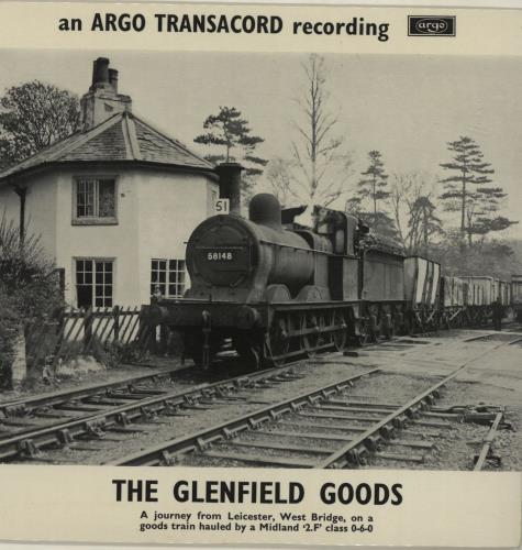"""Various-Trains The Glenfield Goods EP 7"""" vinyl single (7 inch record) UK V-T07TH683934"""