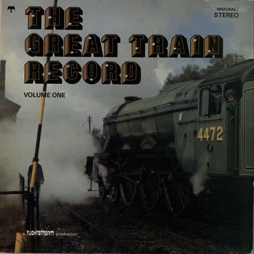 Various-Trains The Great Train Record Volume One vinyl LP album (LP record) UK V-TLPTH583012