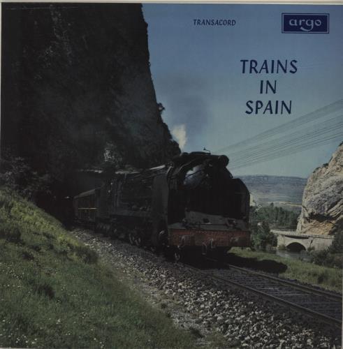 Various-Trains Trains In Spain vinyl LP album (LP record) UK V-TLPTR684250