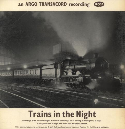 Various-Trains Trains In The Night vinyl LP album (LP record) UK V-TLPTR747456