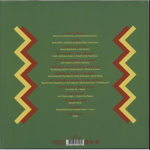 Various-World Music Red Hot + Fela UK 2-LP vinyl record set (Double Album)
