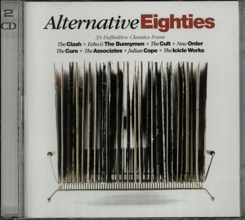 Various Artists Alternative Eighties 2 CD album set (Double CD) UK VAR2CAL607080