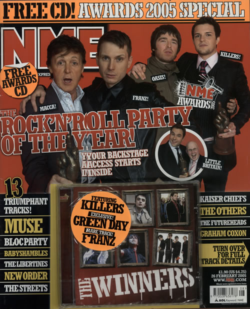 Various Artists NME - Awards 2005 Special + CD UK Promo magazine