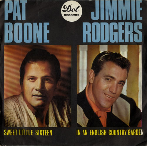 "Various Artists Pat Boone, Jimmie Rodgers, Lawrence Welk & Billy Vaughn EP 7"" vinyl single (7 inch record) UK VAR07PA555223"