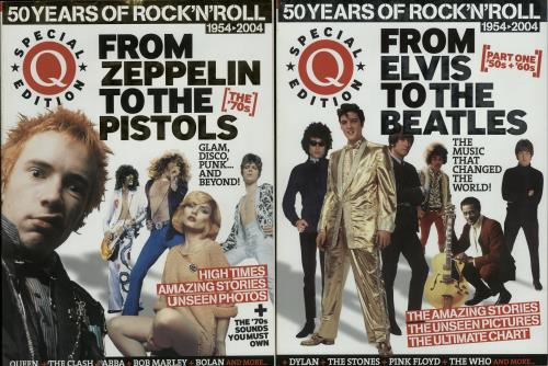 Various Artists Q Special Edition: 50 Years of Rock 'n' Roll - Parts 1 & 2  UK magazine