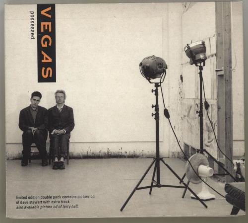"""Vegas Possessed CD single (CD5 / 5"""") UK VGSC5PO22732"""