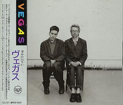 Vegas Vegas CD album (CDLP) Japanese VGSCDVE151724