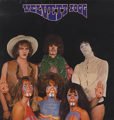 Velvett Fogg Velvett Fogg vinyl LP album (LP record) Italian VEFLPVE398643