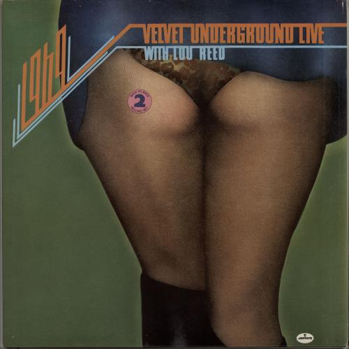 Velvet Underground 1969 Velvet Underground Live With Lou Reed 2-LP vinyl record set (Double Album) UK VUN2LVE316481