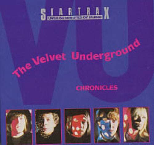 Velvet Underground Chronicles CD album (CDLP) Australian VUNCDCH05195