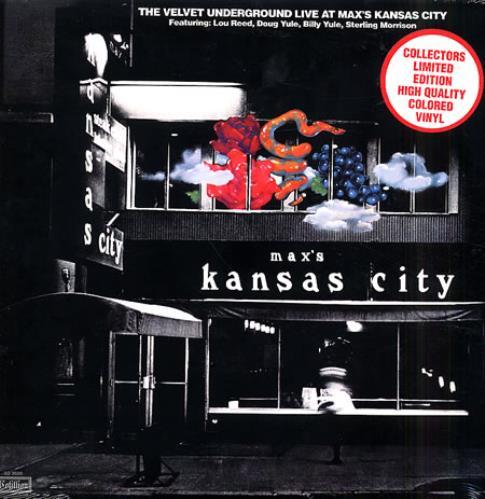 Velvet Underground Live At Max's Kansas City vinyl LP album (LP record) US VUNLPLI345040