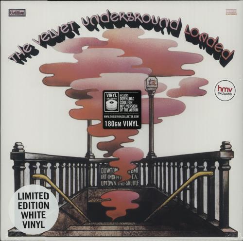 Velvet Underground Loaded - White Vinyl + Sealed vinyl LP album (LP record) UK VUNLPLO656986