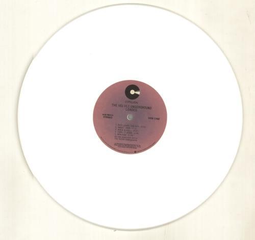 Velvet Underground Loaded - White Vinyl vinyl LP album (LP record) UK VUNLPLO703898