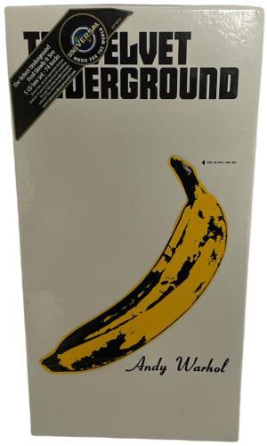 Velvet Underground Peel Slowly And See - 5 x CD Box CD Album Box Set UK VUNDXPE54440