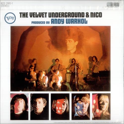 Velvet Underground The Velvet Underground & Nico - 180gm - 'Peelable' Banana vinyl LP album (LP record) US VUNLPTH459635